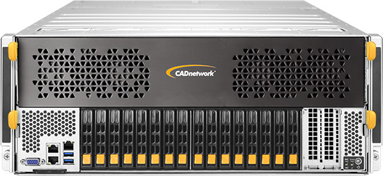 CADnetwork Deep Learning Appliance 4U with NVLink