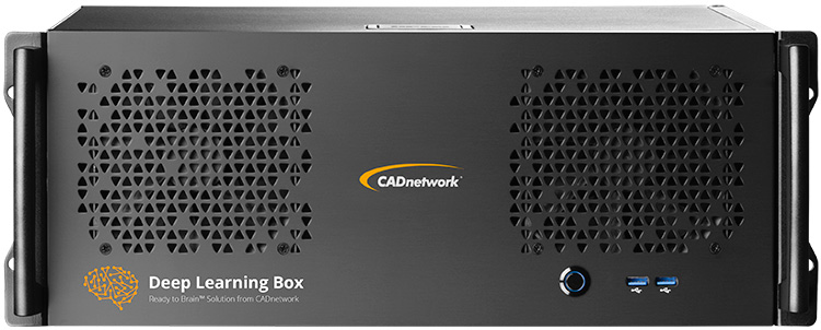 CADnetwork Deep Learning Box Rack for Tensorflow and Caffe