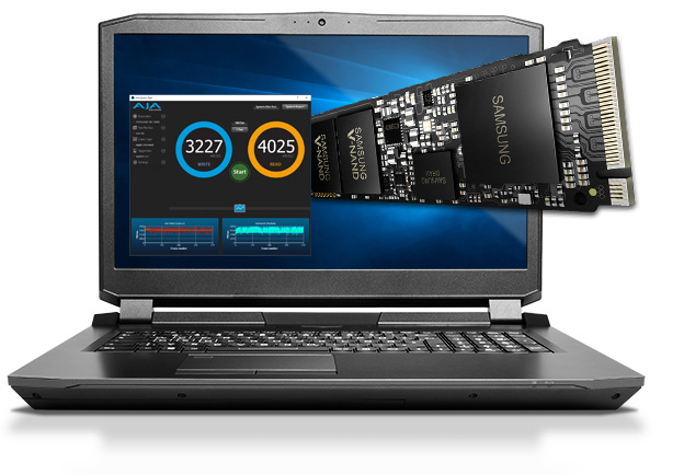 NVME SSD M.2 Mobile Workstation Horizon XL