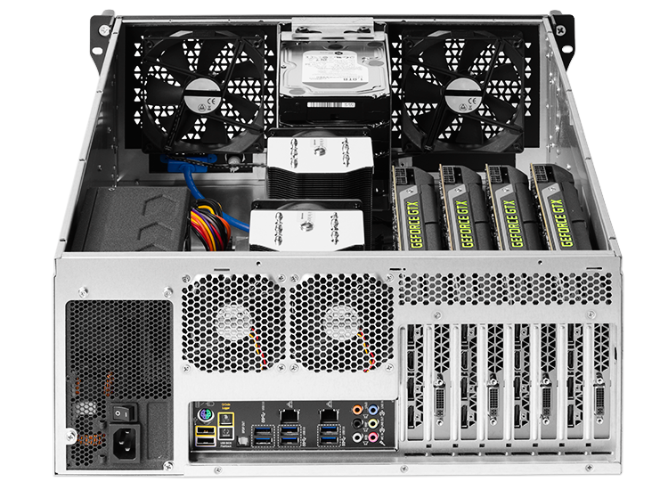 RenderCube Rack GPU